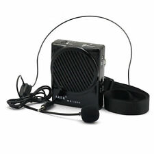 Aker 10W Loud Voice Booster AMP Speaker Amplifier with Headset Portable UK Stock
