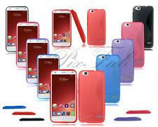 Étuis, housses et coques en silicone, caoutchouc, gel pour téléphone mobile et assistant personnel (PDA) ZTE