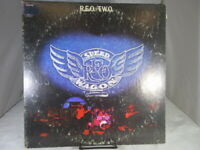 REO Speedwagon - R.E.O./T.W.O. LP KE 31745 Epic Orange Labels  Record VG+ c VG