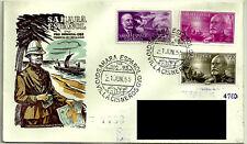 SOBRE PRIMER DÍA. SAHARA ESPAÑOL. 1955. PRO INFANCIA