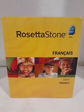 Rosetta Stone French level 5 Version 3 Pc/ Mac