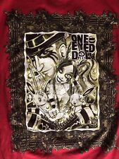 One-Eyed Doll Men's t-shirt Size Large RED (Artwork by Aaron Bordner) Perfect!!!