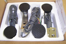 Pack Of  Four Shear Beam Load Cell 2500 LB, Alloy Steel, Foot ,Spacer, NTEP, NEW