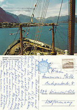 1978 ANDALSNES NORWAY COLOUR POSTCARD CLUB DER KREUZFAHRER CACHE