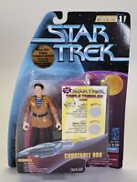 1997 Playmates Star Trek Warp Factor Series 1 Constable Odo Action Figure Toy