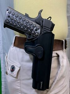 Bulldog rapid release OWB paddle holster for Smith & Wesson M&P Compact