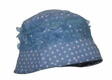 Monsoon Spotty Voile Trimmed Sun Hat Seconds Age 0-12 mth Best Fit 0-6mth NWOT