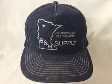 trucker hat baseball cap Clearbrook MN B&M Supply retro vintage rave rare cool