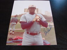 Warren Cromartie Autograph / Signed 8 x 10 Photo Montreal Expos