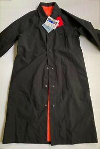 Blauer GTX 9690 Featherweight Raincoat Mens M Reg 40-42 Black Reversible/Orange