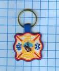 Fire Patch - Wyoming - Laramie  Fire Dept key chain