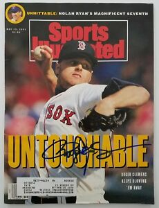 Roger Clemens Signed Sports Illustrated Magazine 5/13/91 Boston Red Sox RAD