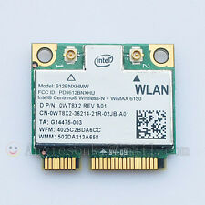 Intel Centrino Advanced-N + WIMAX 6150 WiFi Half Mini Card 612BNXHMW 0WT8X2 NEW