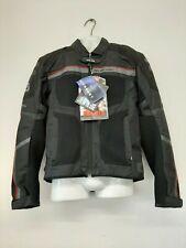 ARLEN NESS BLOUSON MESH MOTORCYCLE SUMMER JACKET BLACK & RED