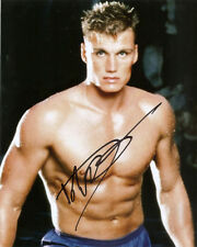 DOLPH LUNDGREN GENUINE AUTHENTIC SIGNED ROCKY 10X8 PHOTO AFTAL UACC [10326]