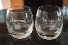 Set of two GLENMORANGIE Single Malt Whisky Rocks Glasses