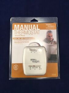 Thermostat Heat Only Home/ Mobile Home/RV White Rodgers 200