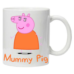 Personalised Mummy Pig mug/cup Perfect gift for any occasion.