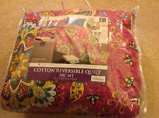 Addington Quilt Bedding Set Full/Queen Fuschia Purple machine wash - FUNDRAISER