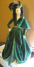 Franklin Mint Heirloom Doll Scarlet O'Hara w/ Box & Stand