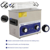 Zokop Stainless Steel Ultrasonic Cleaner 3L Liter Long Cycle Life