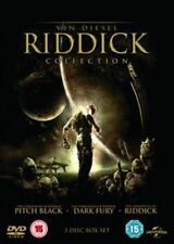 THE RIDDICK DVD COLLECTION - PITCH BLACK / THE CHRONICLE - NEW / SEALED DVD - UK