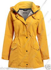 New WATERPROOF Coat Ladies Raincoat Women Jacket Size 10 12 14 16 18 20 22 24