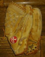 Rawlings RBG60 Jose Canseco Leather Baseball Glove RHT Basket Web right hand
