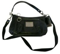Coach Patent Black Leather Hobo Shoulder Bag! Style #14559