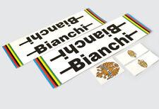 Bianchi pista Decals Sticker Adhesivo decoración 5 piezas set bicicleta de carreras bahnrad fixie