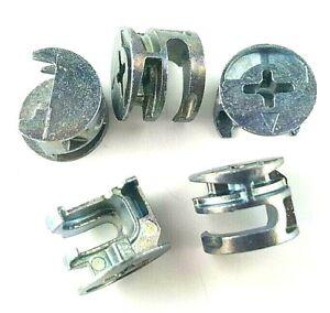 IKEA Eccentric Case Cam Lock Metal Replacement Part 103430 For HEMNES 5 Pack