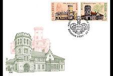 Estland / Estonia - Postfris / MNH - FDC Europe, Castles 2017