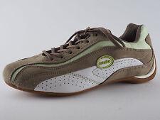 MANITU Schuhe Sneaker 37 Khaki / Weiß Halbschuhe NEU