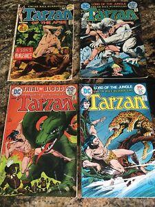 Tarzan #208 (5/72), #227 (1/74), #228 (2/74); #236 (4/75) - 4 DC Comics