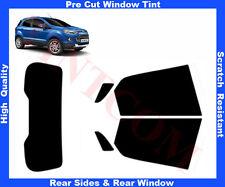 Pre-Cut Window Tint Ford Ecosport 5D 2013-.. Rear Window & Rear Sides Any Shade