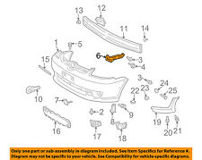 TOYOTA OEM 03-05 Echo Front Bumper-Bumper Cover Side Support Right 5211552040