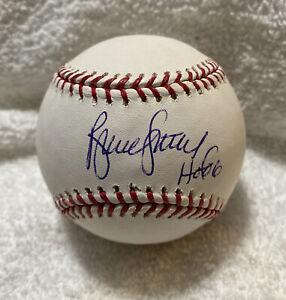 Bruce Sutter HOF 06 SIGNED Autographed OMLB BASEBALL CLEAN WHITE BALL