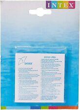 Intex 59631np rustine de Réparation Transparent 7x7x01 cm