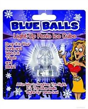 Hott Products Bachelorette Party Blue Balls Light Up Ice Cube
