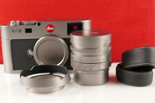 Leica M9 Titan - Titanium Limited Edition Camera Body + 35mm 1.4 Lens - no S/N!