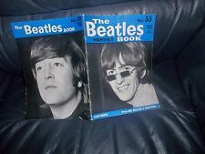 THE BEATLES MONTHLY BOOK (MAG.) No.35 GENUINE ITEM FROM JUNE 1966 FIRST ISSUE