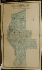 Illinois Putnum County Map Hennepin Township 1911 Dbl Pg J12#55