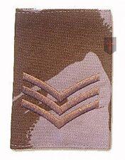 Sergeant SGT Desert DPM Rank Slide (New Official