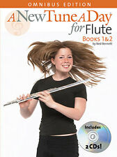 A New Tune A Day for Flute Music Book 1 2 2 CD LESSON TUTOR LEARN to READ NOTES