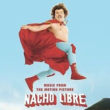 Audio CD: Nacho Libre, Various. Acceptable Cond. Soundtrack. 780163388329