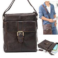 New Men Fashion Shoulder Bag Genuine Leather Message Cross Bag (B-042)