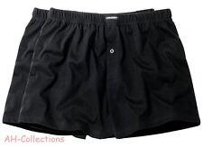 CECEBA Shorts Boxer 2er-Pack schwarz Größen 9, 10, 12, 3XL, 4XL, 5XL Übergrößen