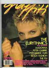 The Eurythmics  Graffiti Magazine From 1986 (Canadian Release)