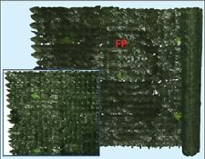 SIEPE SINTETICA ARTIFICIALE SEMPREVERDE FOGLIA EDERA 1,5X20,FINTA COPERTU 421498