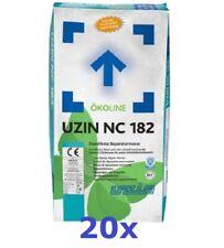 Uzin NC 182 - 20 x 25 KG - Standfeste Reparaturmasse * Repair Mortar * Masa